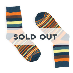 stripes dress socks