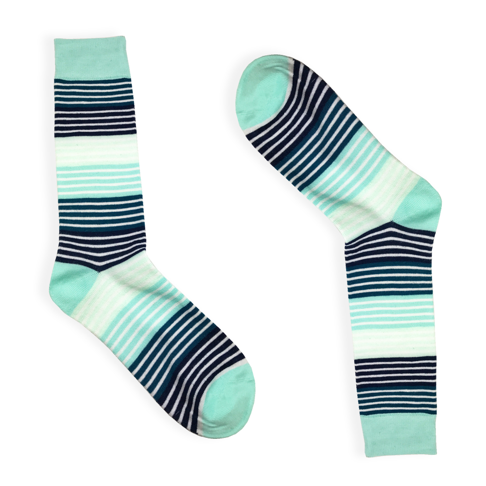 stripe dress socks