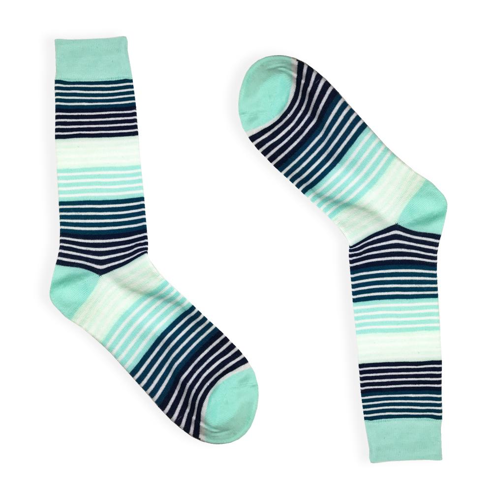 stripe dress socks